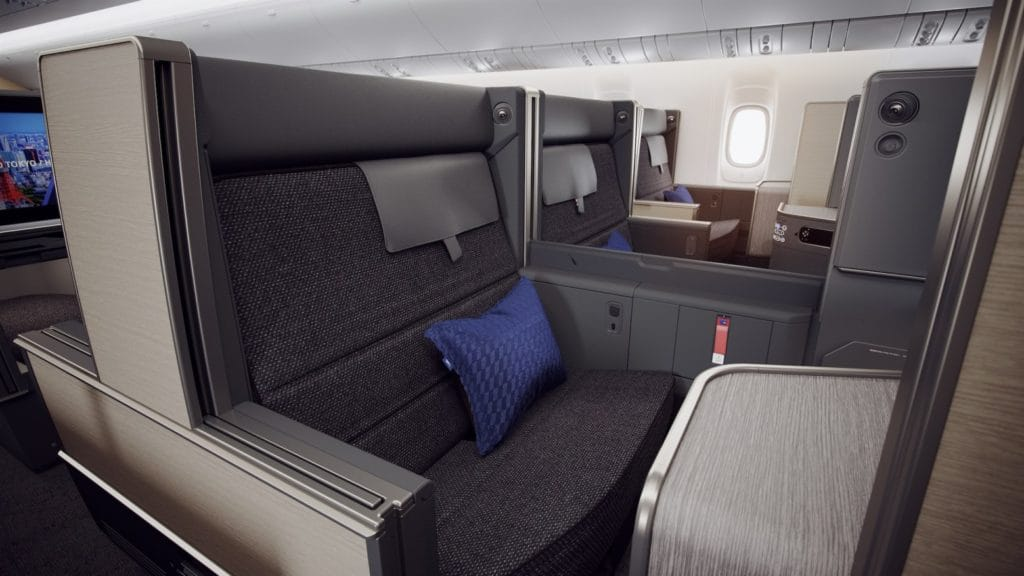 "Die neue ANA Business Class ""THE Room"" an Bord der 777-300ER &copy ANA"