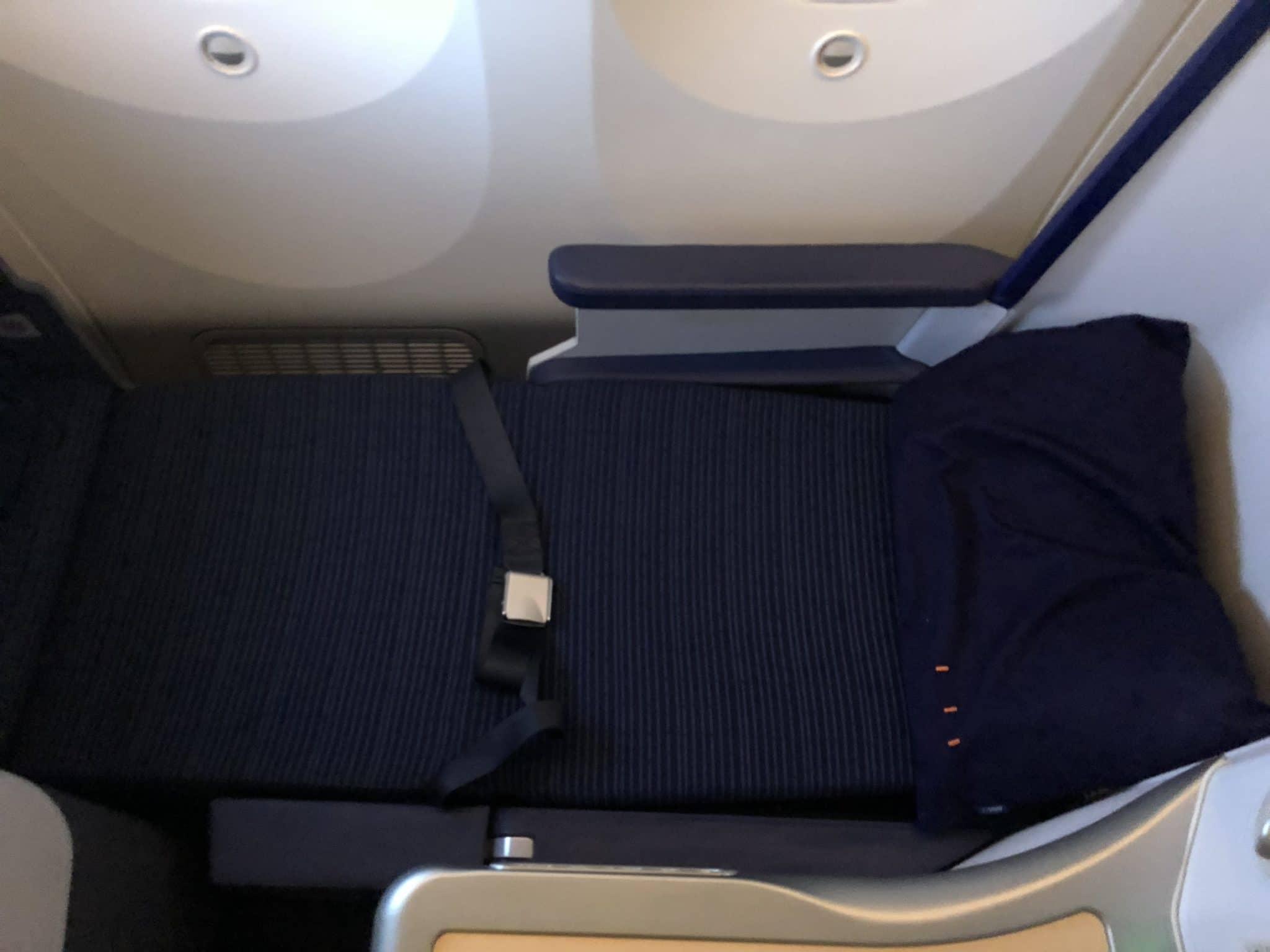 ANA Business Class B787-9 Sitz in Bett Position