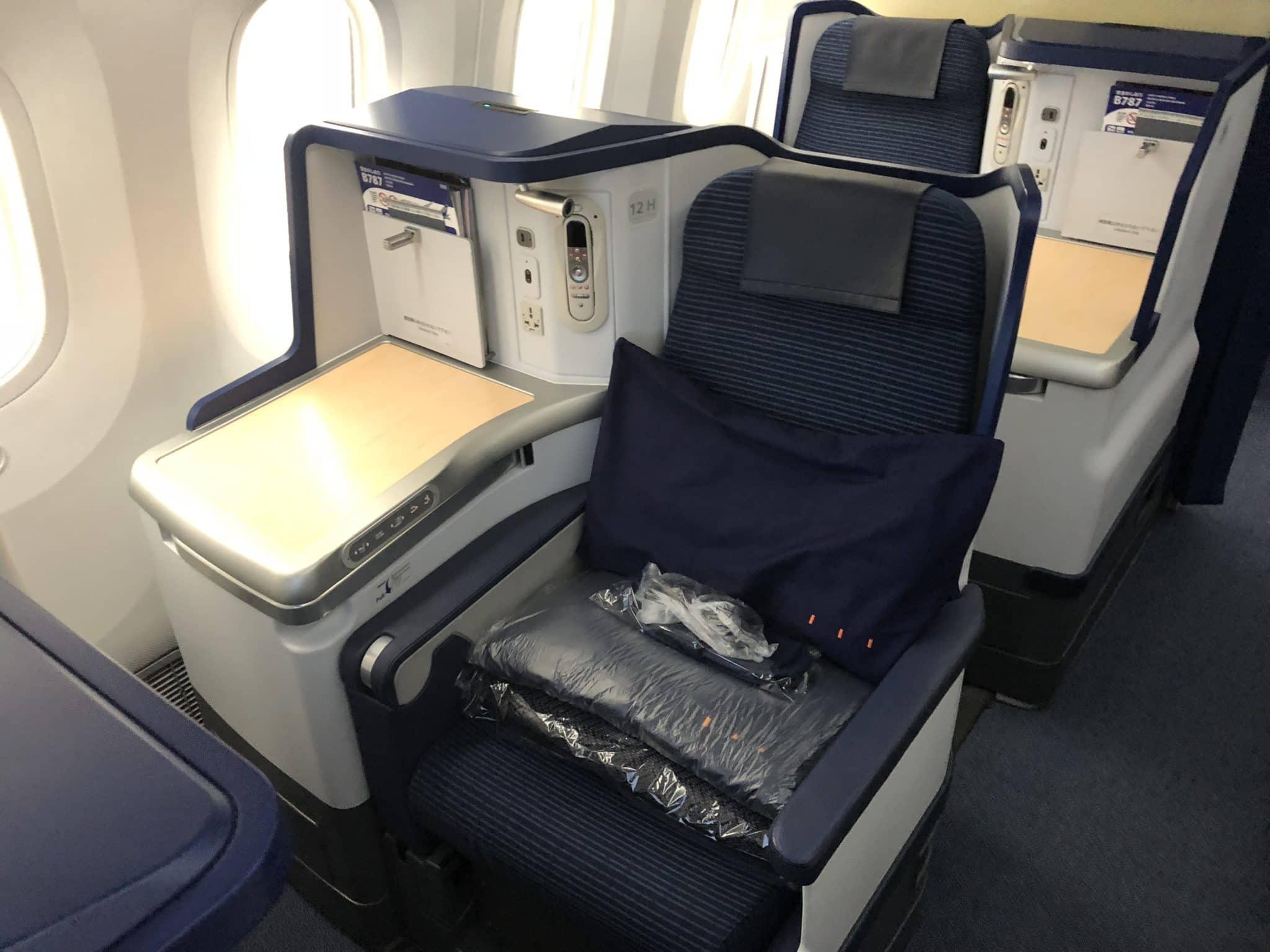 ANA Business Class B787-9 Sitz ohne Fenster