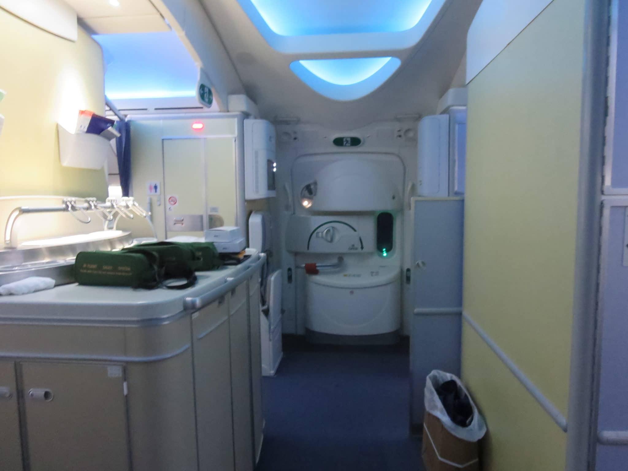 ANA Business Class 787-8 Bar