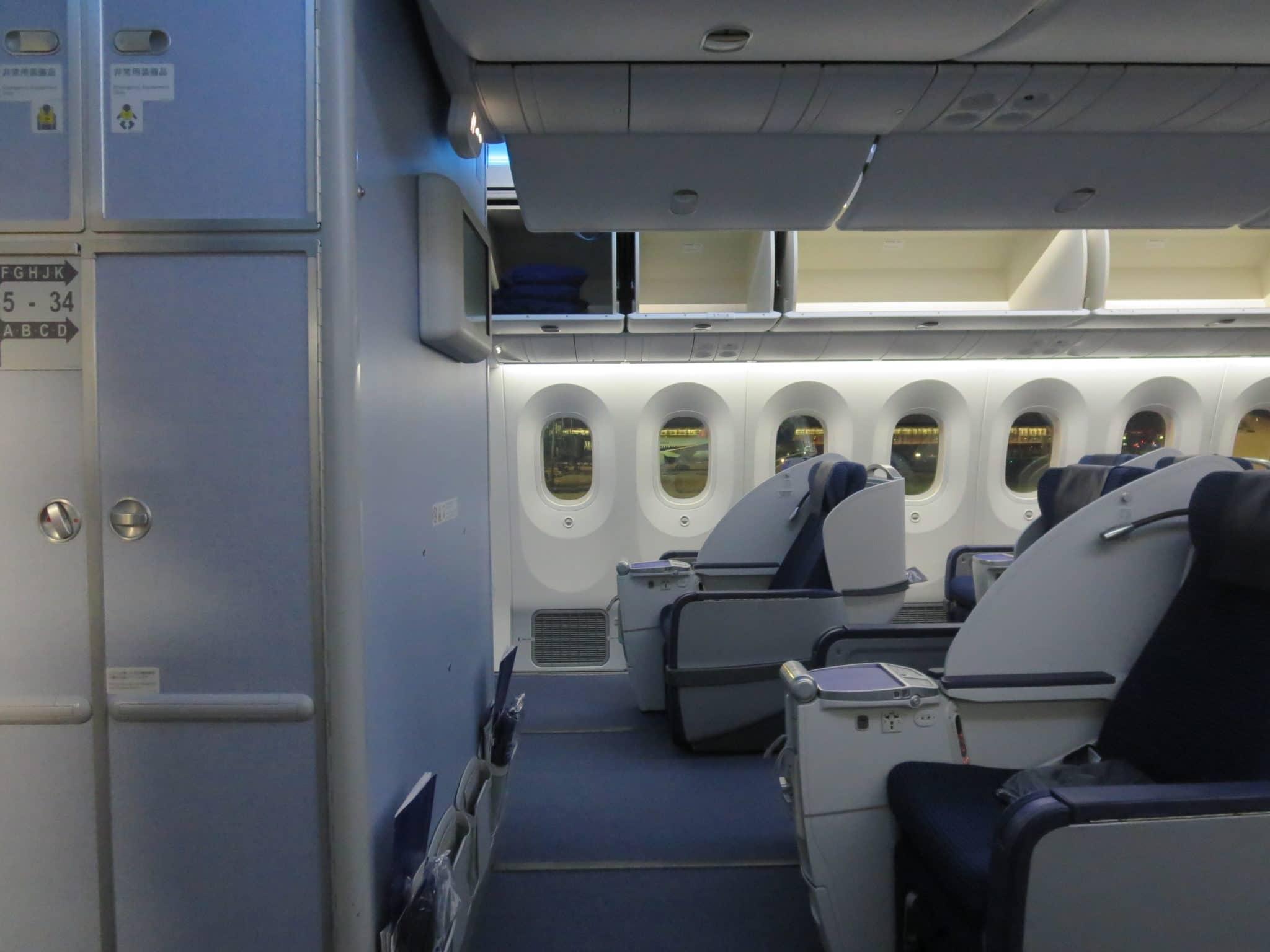 ANA Business Class 787-8 Kabine