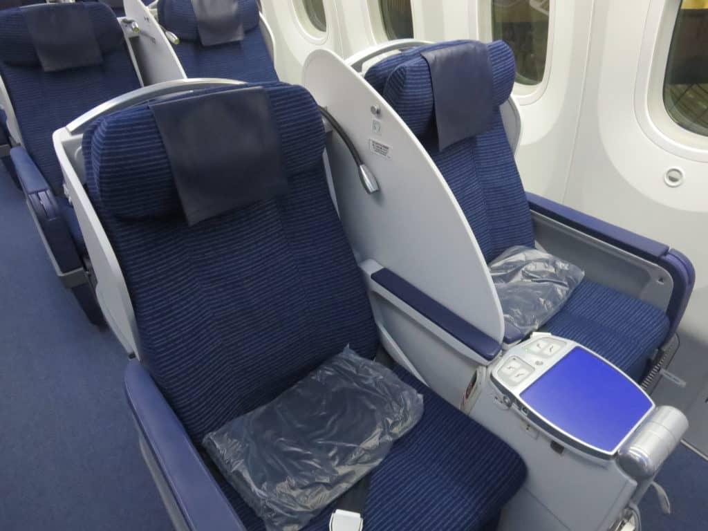 Die regionale ANA Business Class an Bord der 787-8