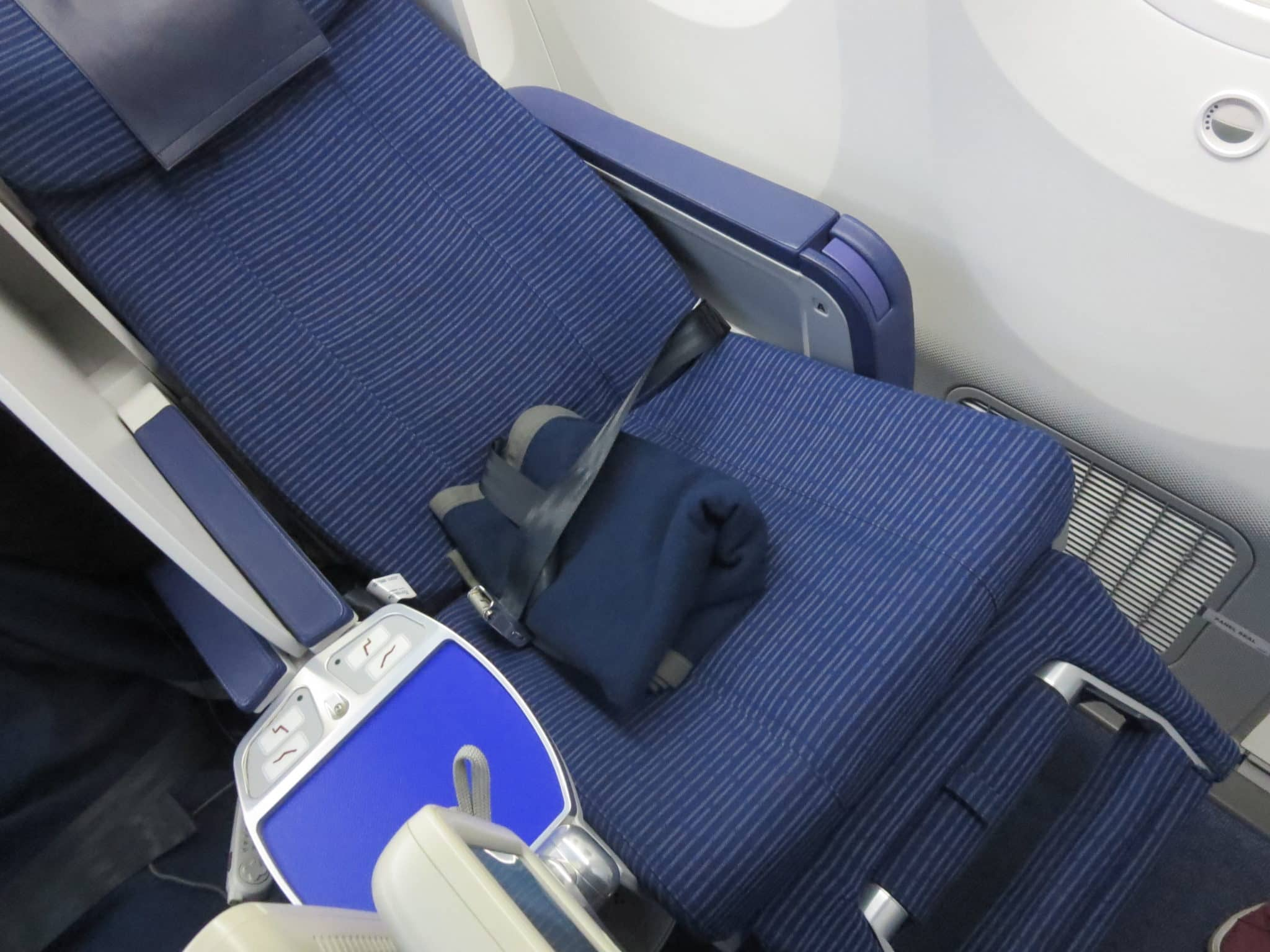 ANA Business Class 787-8 Sitz flach