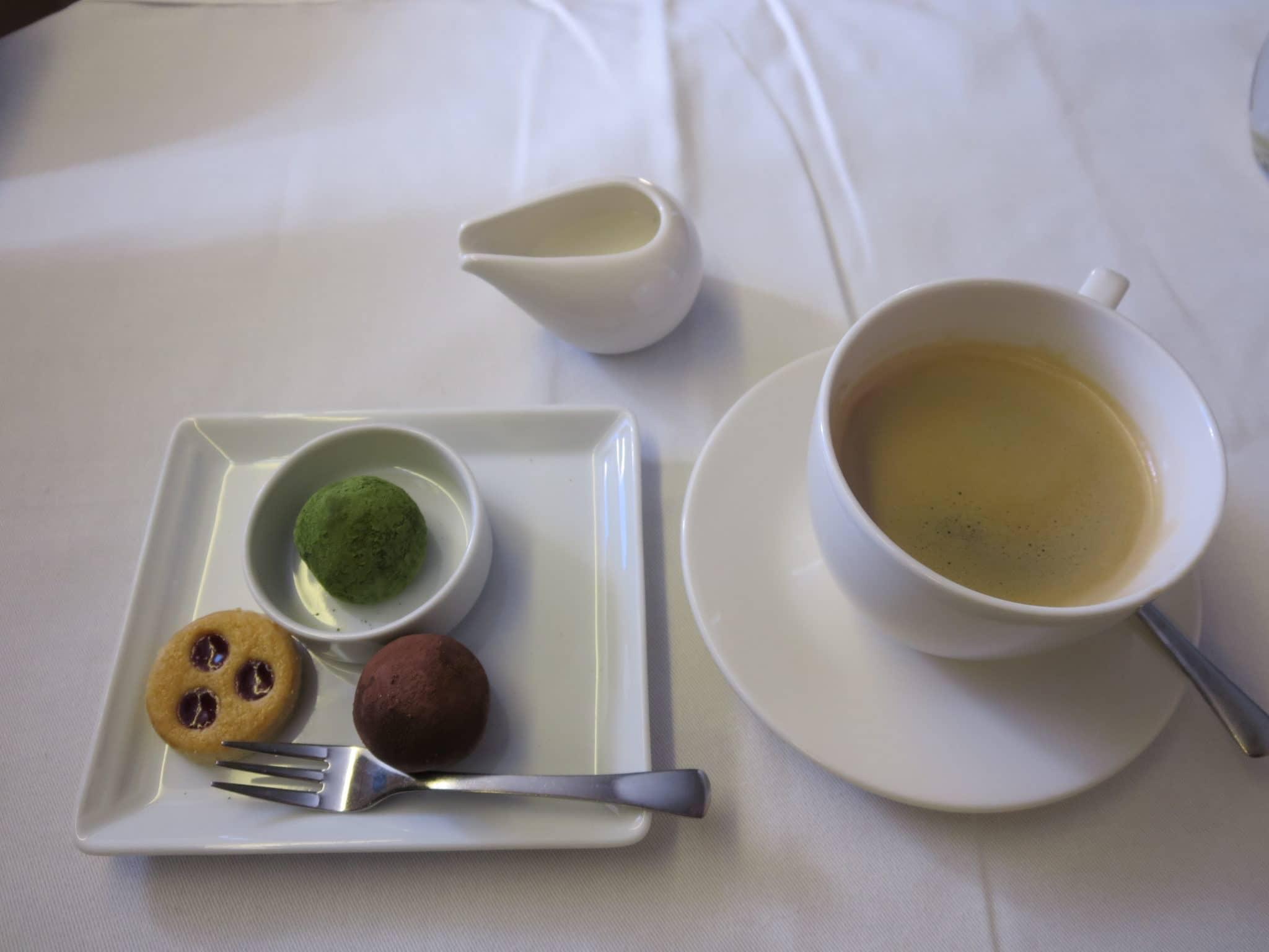 ANA First Class Kaffee