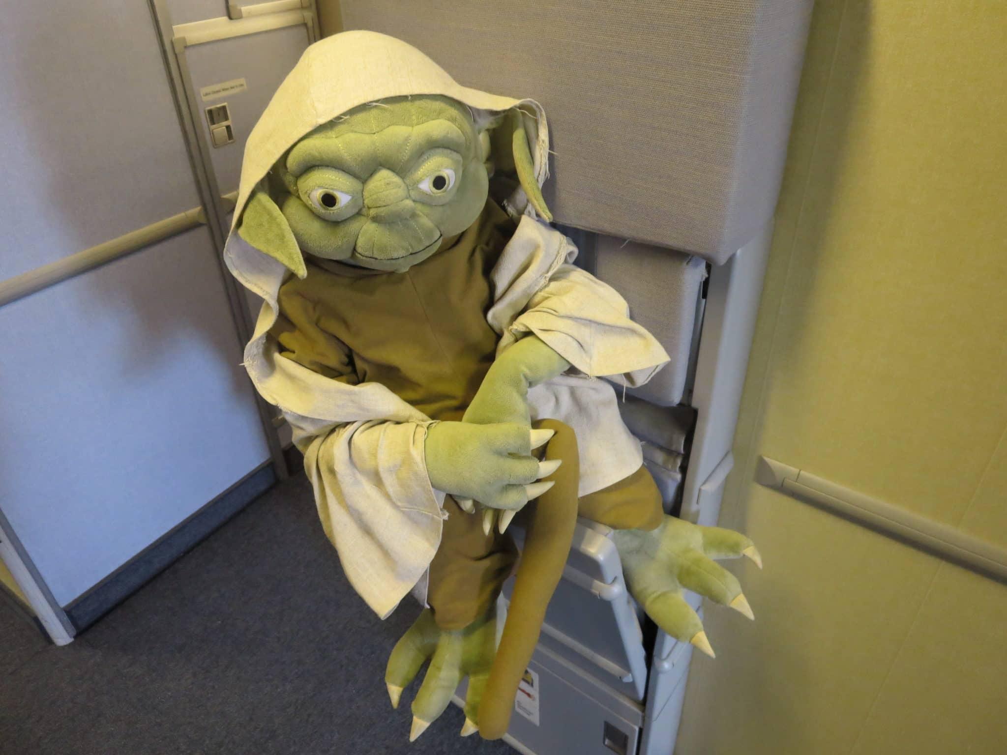 ANA First Class Yoda