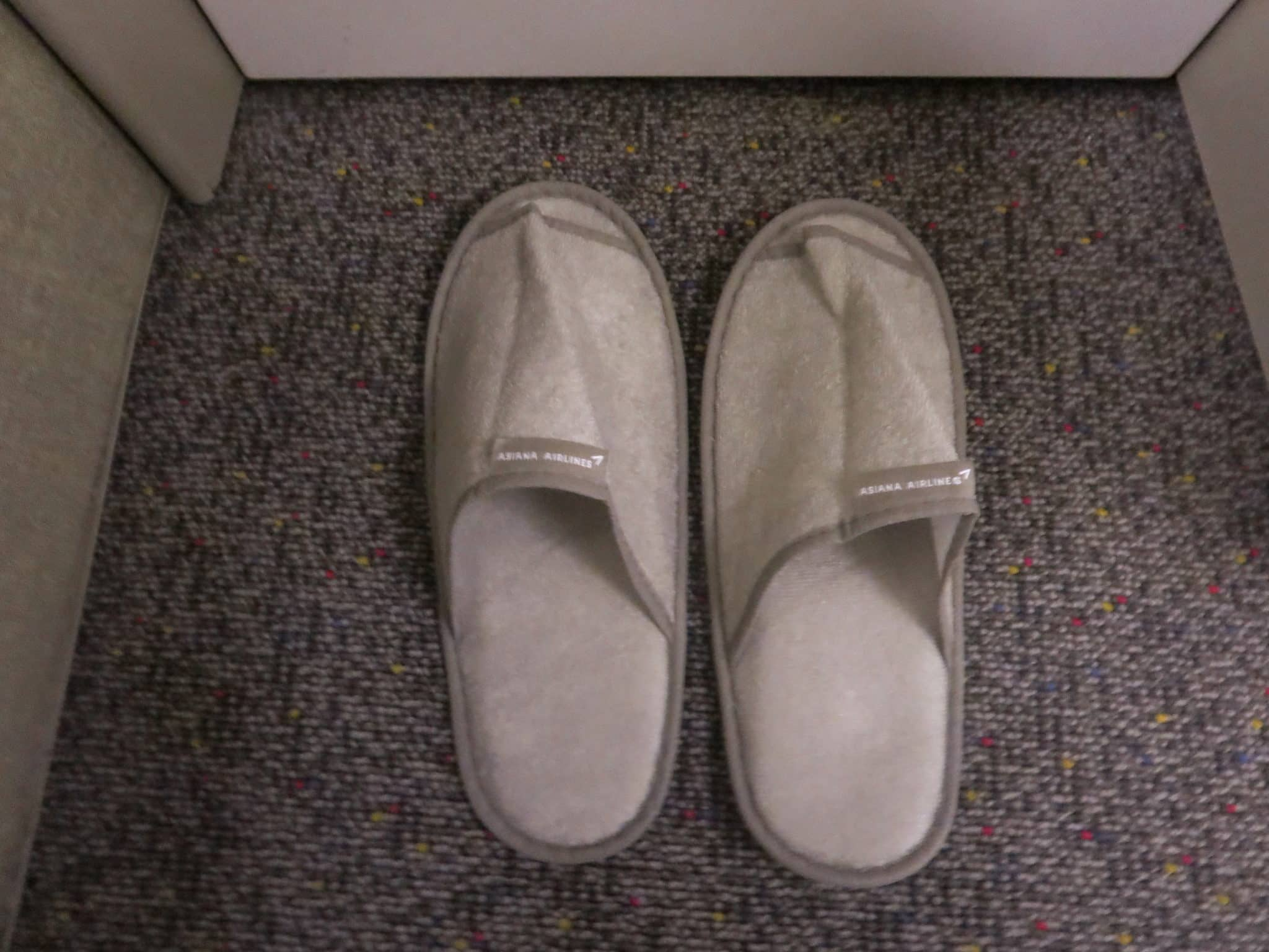Asiana Business Class Amenity Slipper