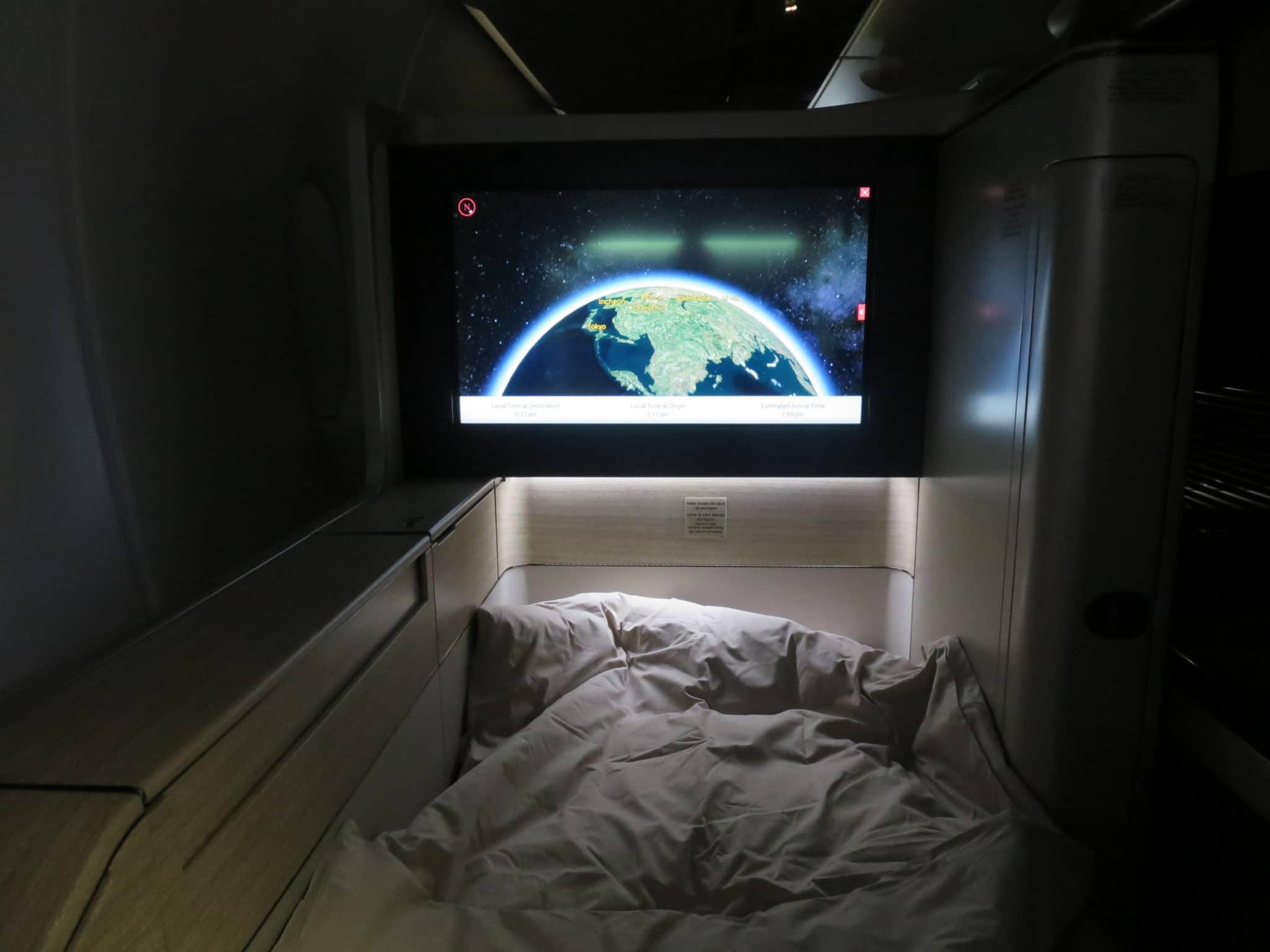 Asiana First Class A380 Bett