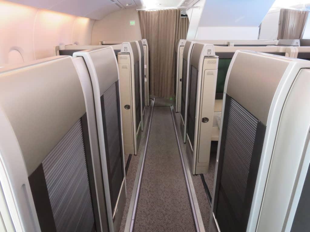 Asiana First Class fliegen - Dank LifeMiles Award Sale ist es für nur wenig mehr als 1.000 Euro möglich