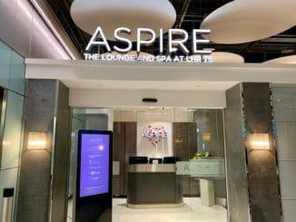Aspire Lounge London Heathrow Terminal 5 Eingangsbereich