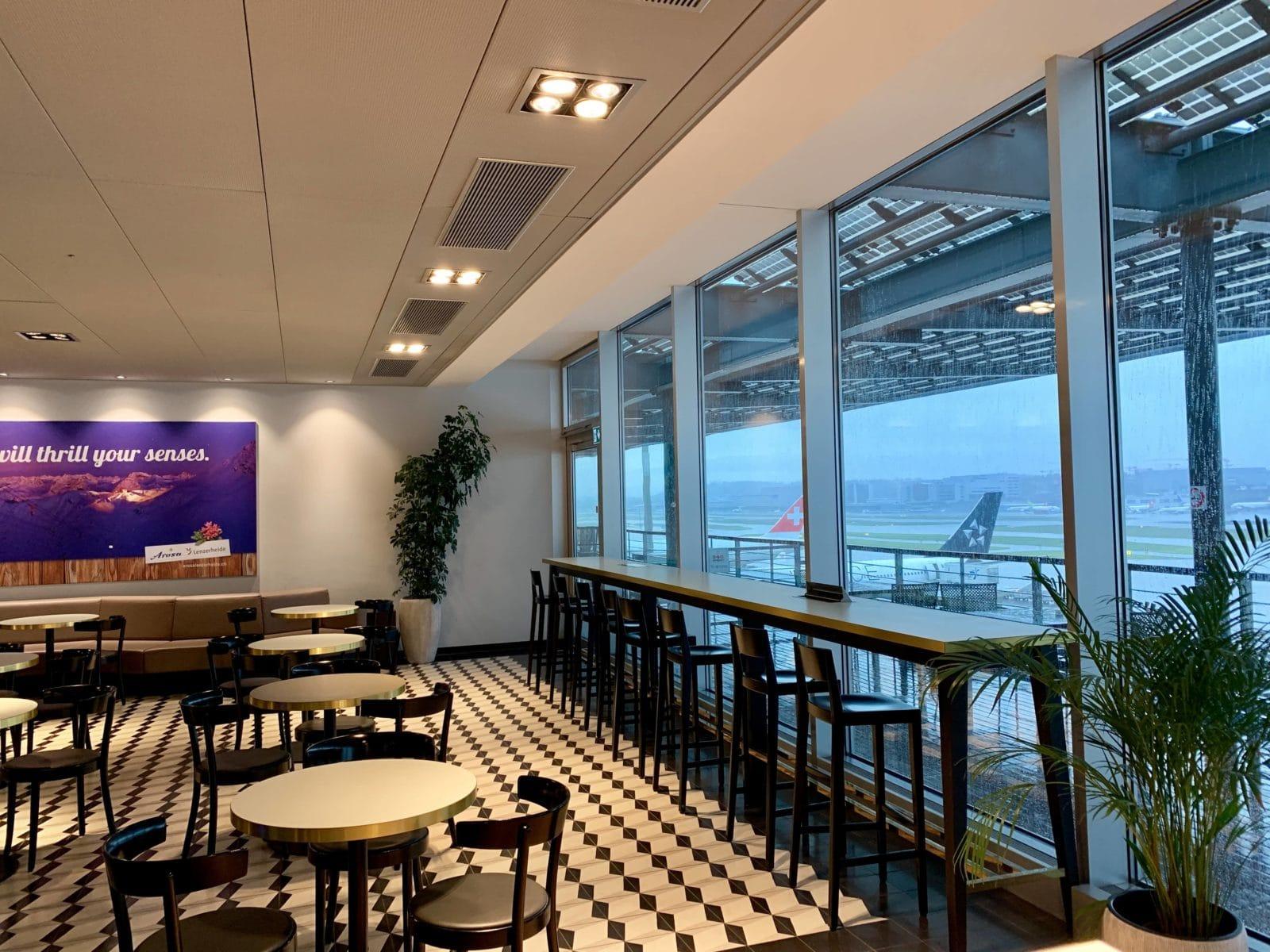 Aspire Lounge Zürich Terminal E - Eine von vielen Priority Pass Lounges