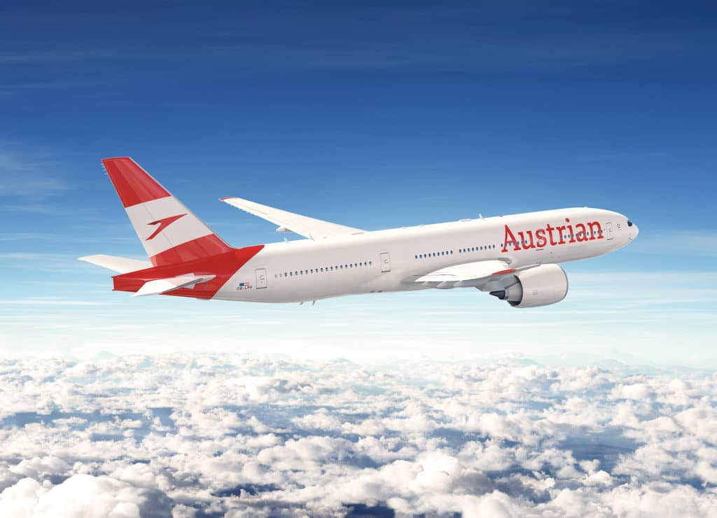 Die Austrian Airlines ändert ihr Streckennetz zum Winterflugplan 2018/19 © austrianairlines.at