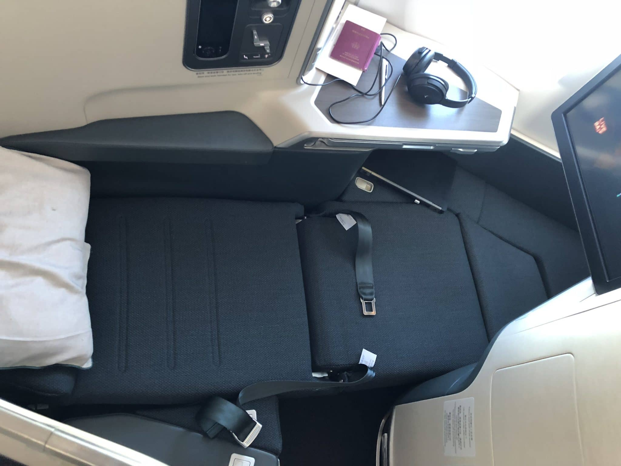 Cathay Pacific Business Class A350-1000 Sitz als Bett