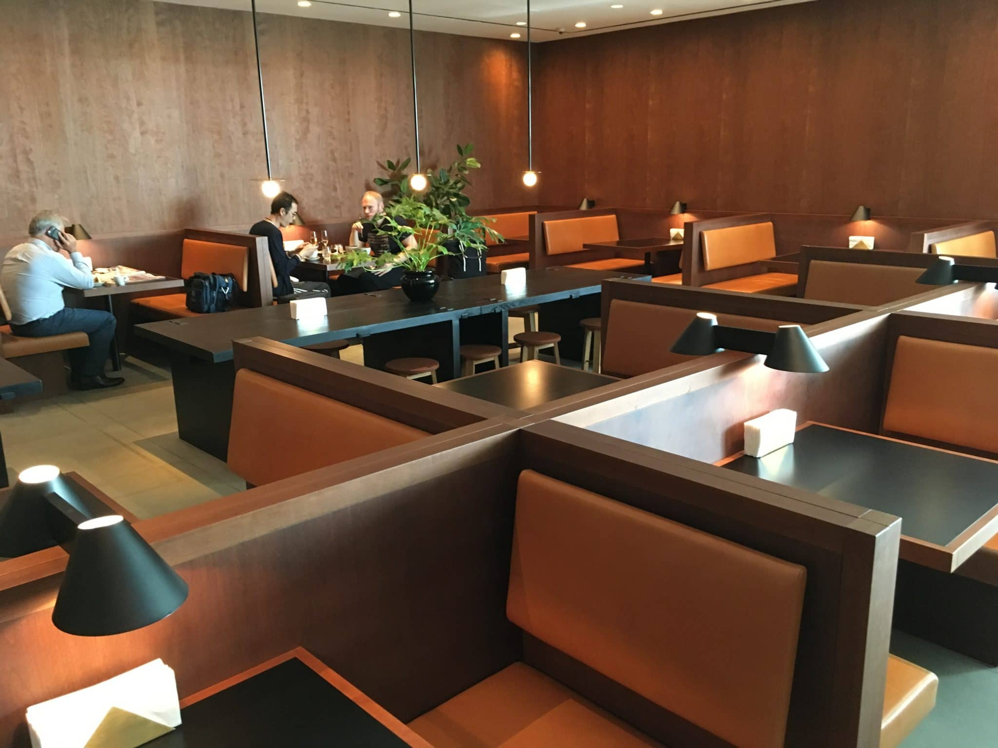 Cathay Pacific Business Class Lounge London Restaurant