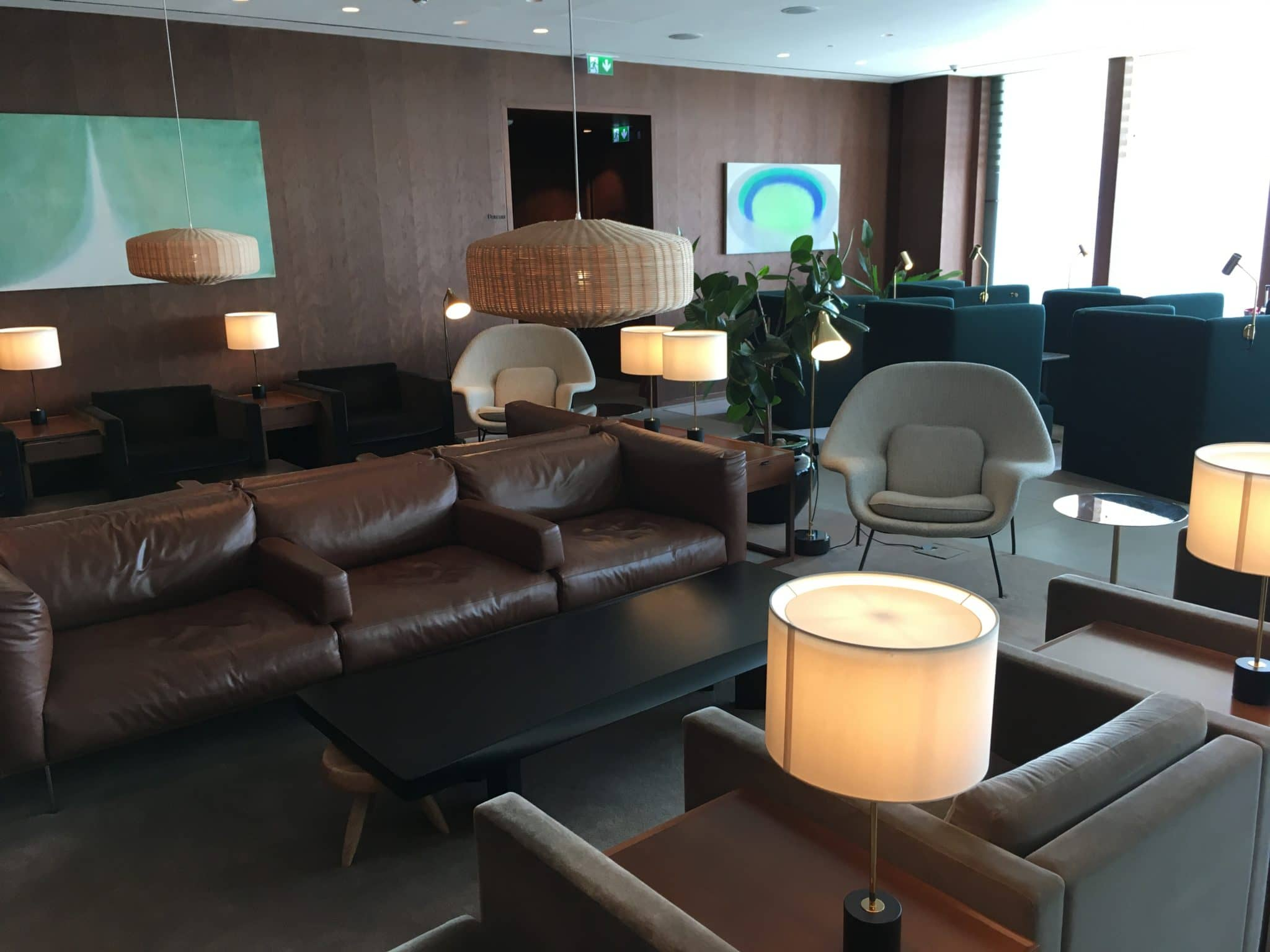 Cathay Pacific Business Class Lounge London Sitzbereich Lounge