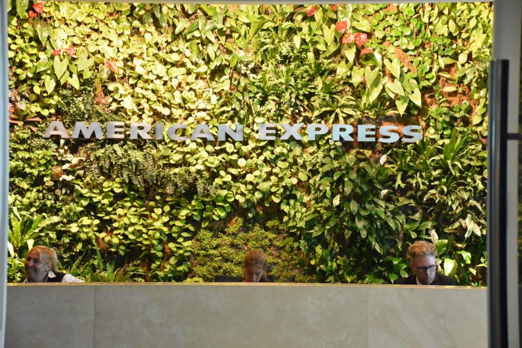Anmeldung der American Express Centurion Lounge Buenos Aires
