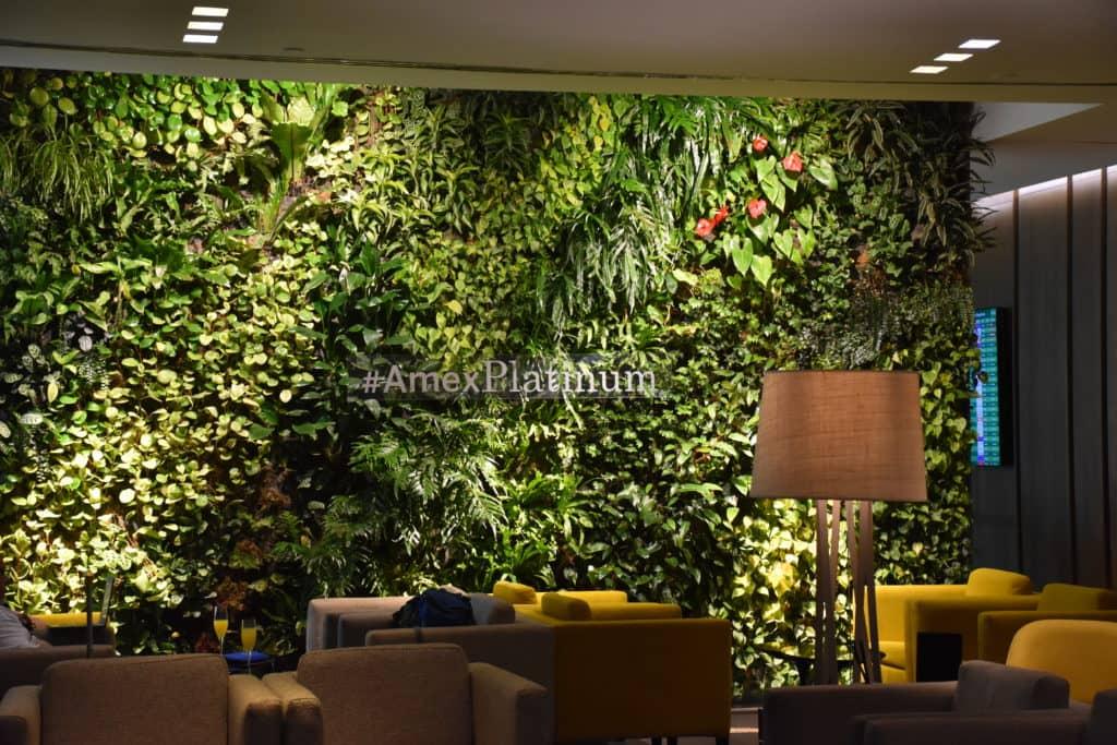 Sitzbereich #AmexPlatinum in der American Express Centurion Lounge Buenos Aires