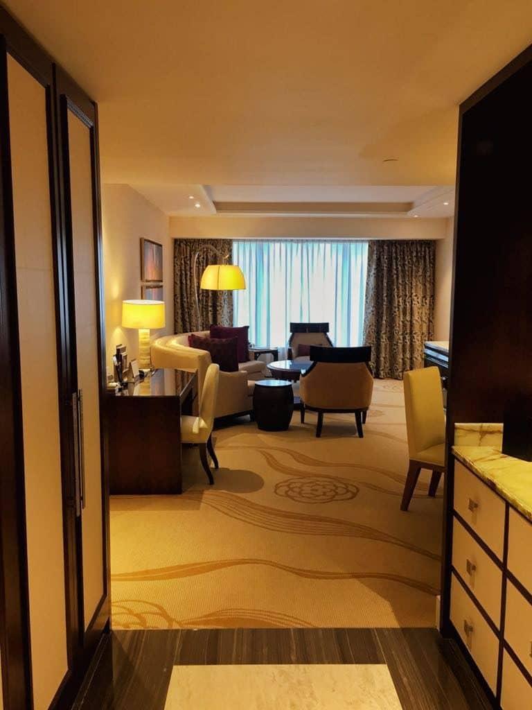 Conrad Macau Two Queens Deluxe Suite City View