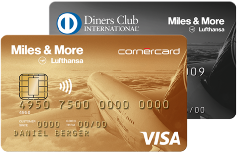 Cornercard Miles and More Kombiangebot Gold