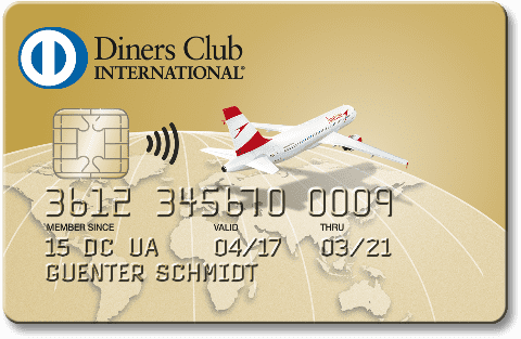 Diners Club Gold Card