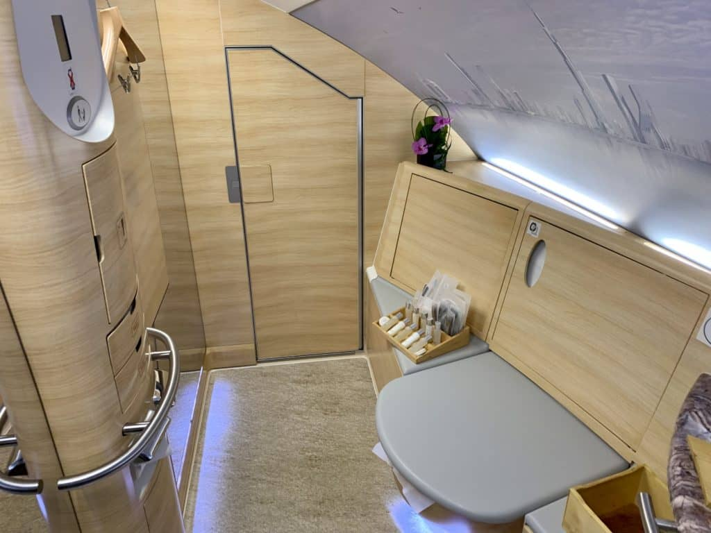 Emirates First Class A380 Bad