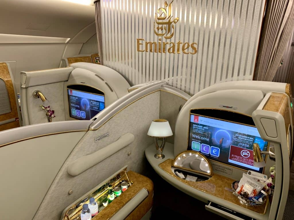 Emirates First Class A380 Suite