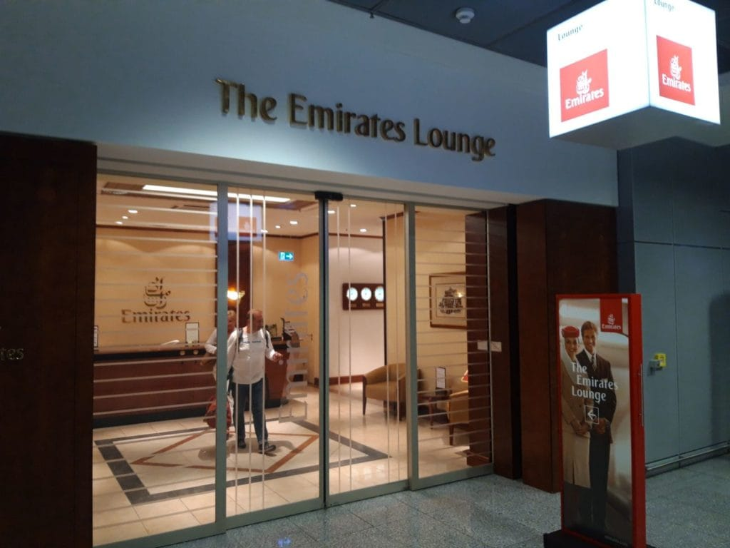 Emirates Lounge Frankfurt