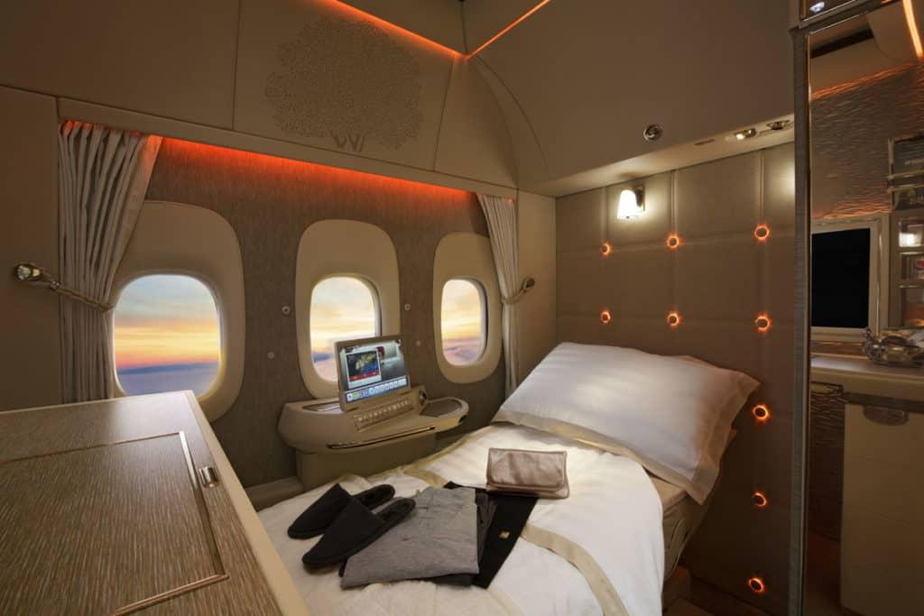 Die neue Emirates First Class Suite &copy Emirates
