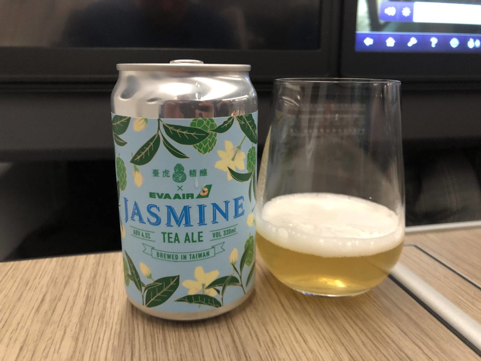 EVA Air Business Class A330-300 Jasmine Bier