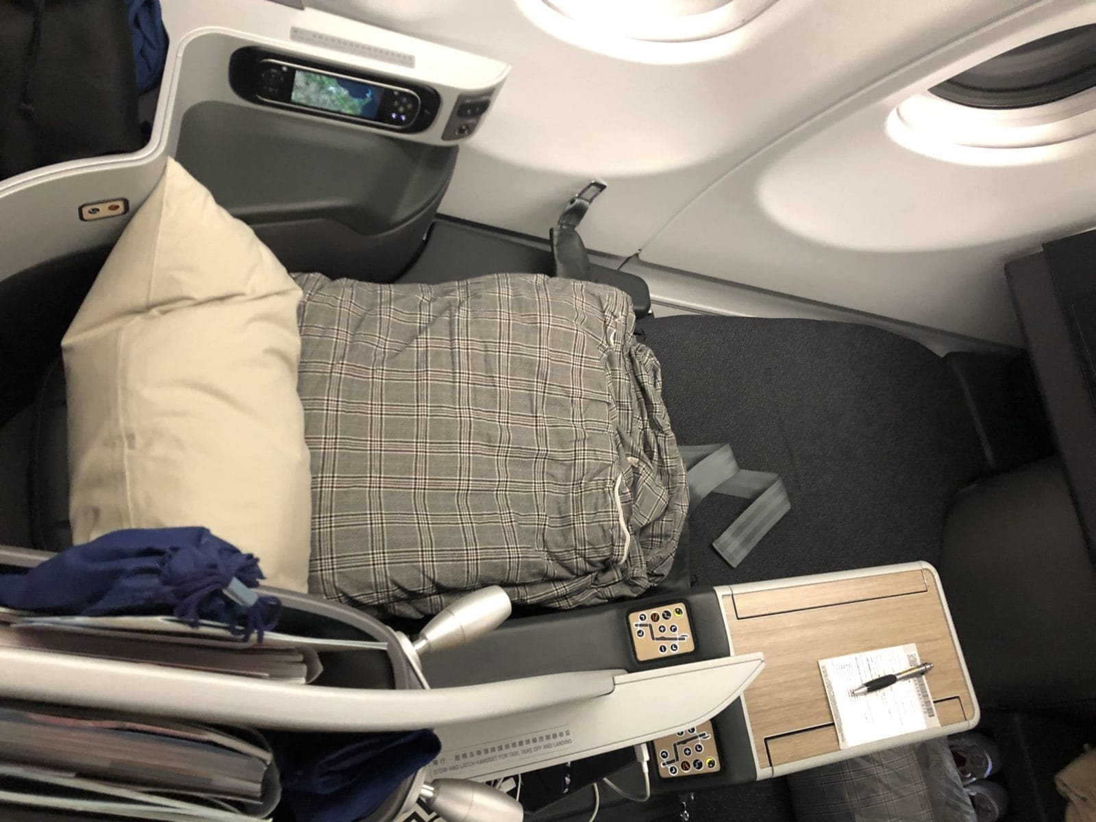 EVA Air Business Class A330-300 Sitz als Bett