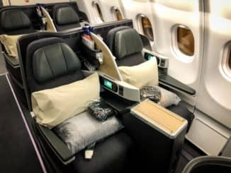 EVA Air Business Class A330-300 Sitze