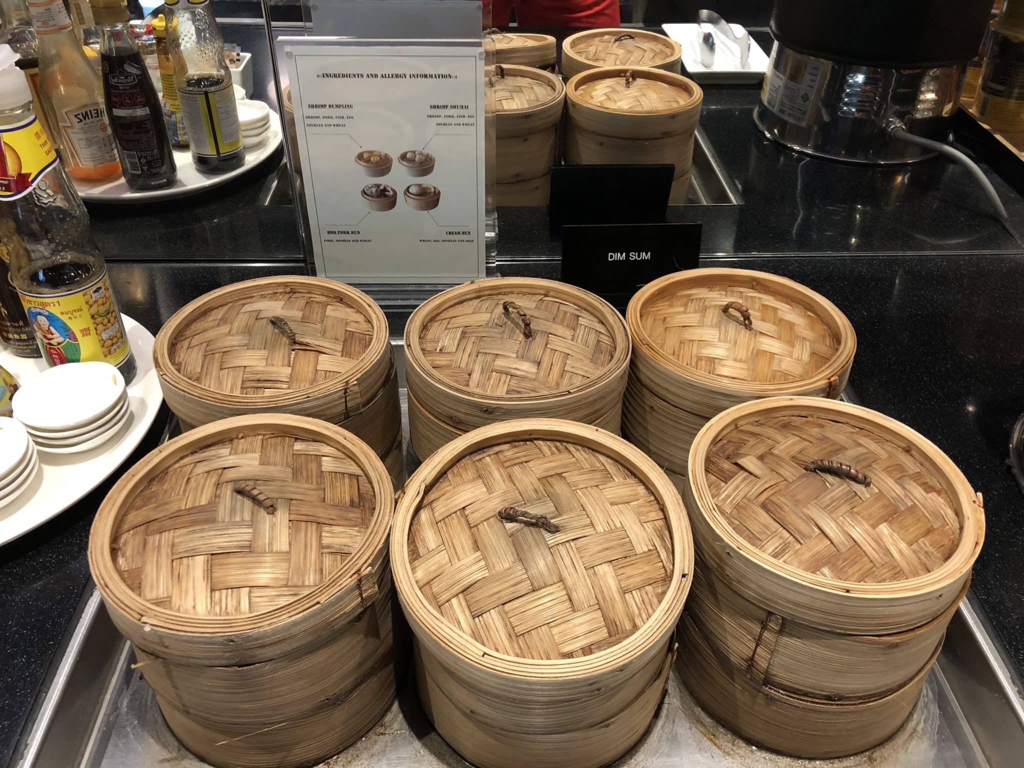 EVA Air Lounge Bangkok Dim Sum