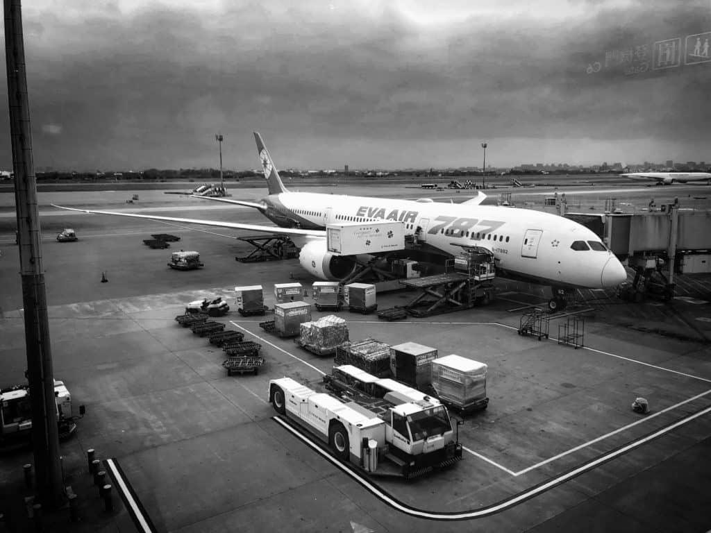 EVA Air neue Business Class 787-9 Flugzeug