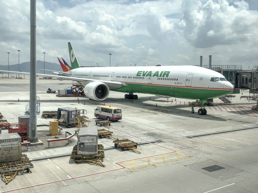 EVA Air Business Class Boeing 777-300