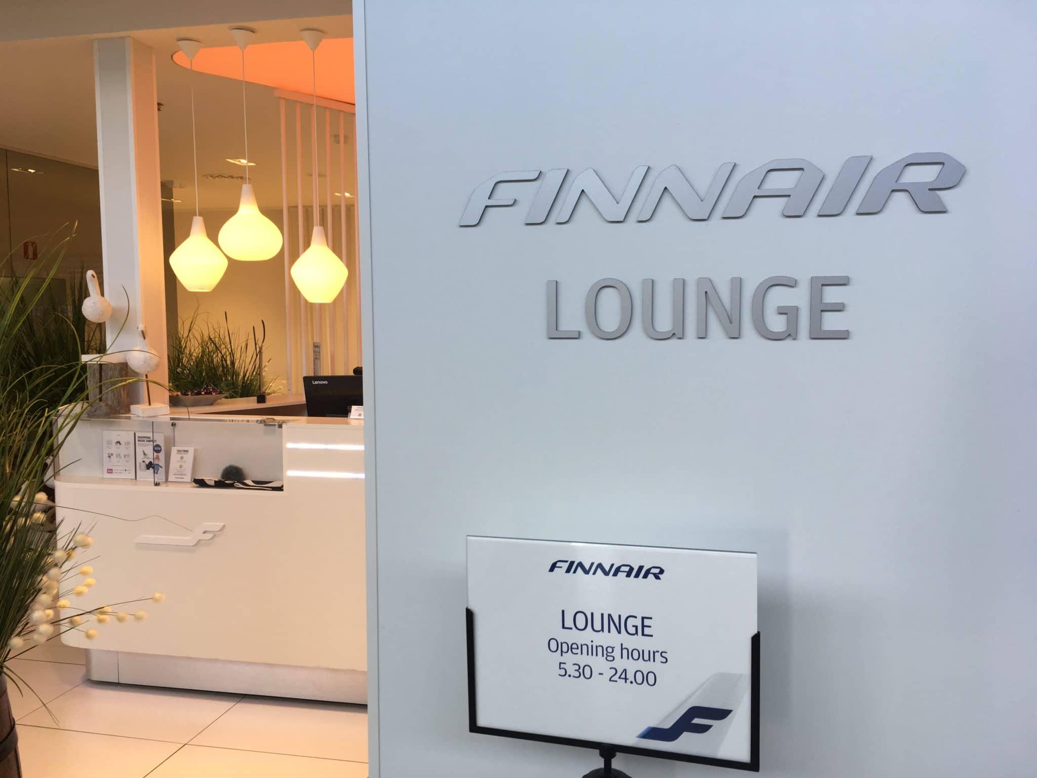 Finnair Lounge Helsinki Non-Schengen Lounge Eingang