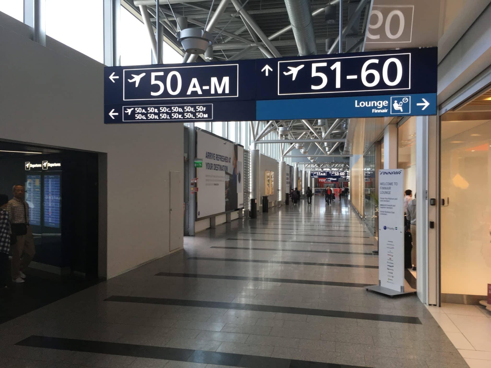 Finnair Lounge Helsinki Non-Schengen Gate 50