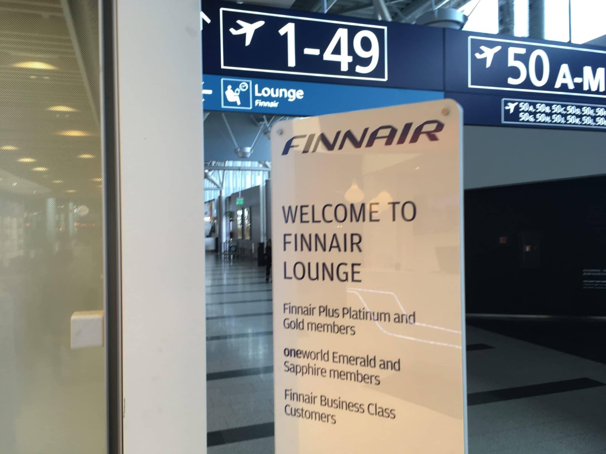 Finnair Lounge Helsinki Non-Schengen Gate 50 Zugangsberechtigte