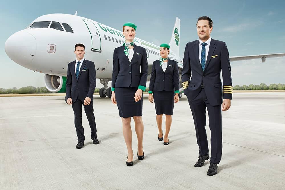 Germania beantragt Insolvenz und stellt den Flugbetrieb ein