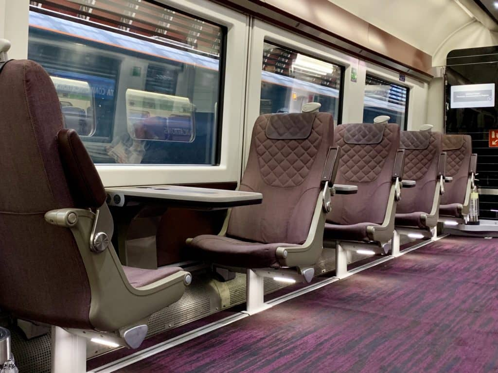 Business First Class im Heathrow Express