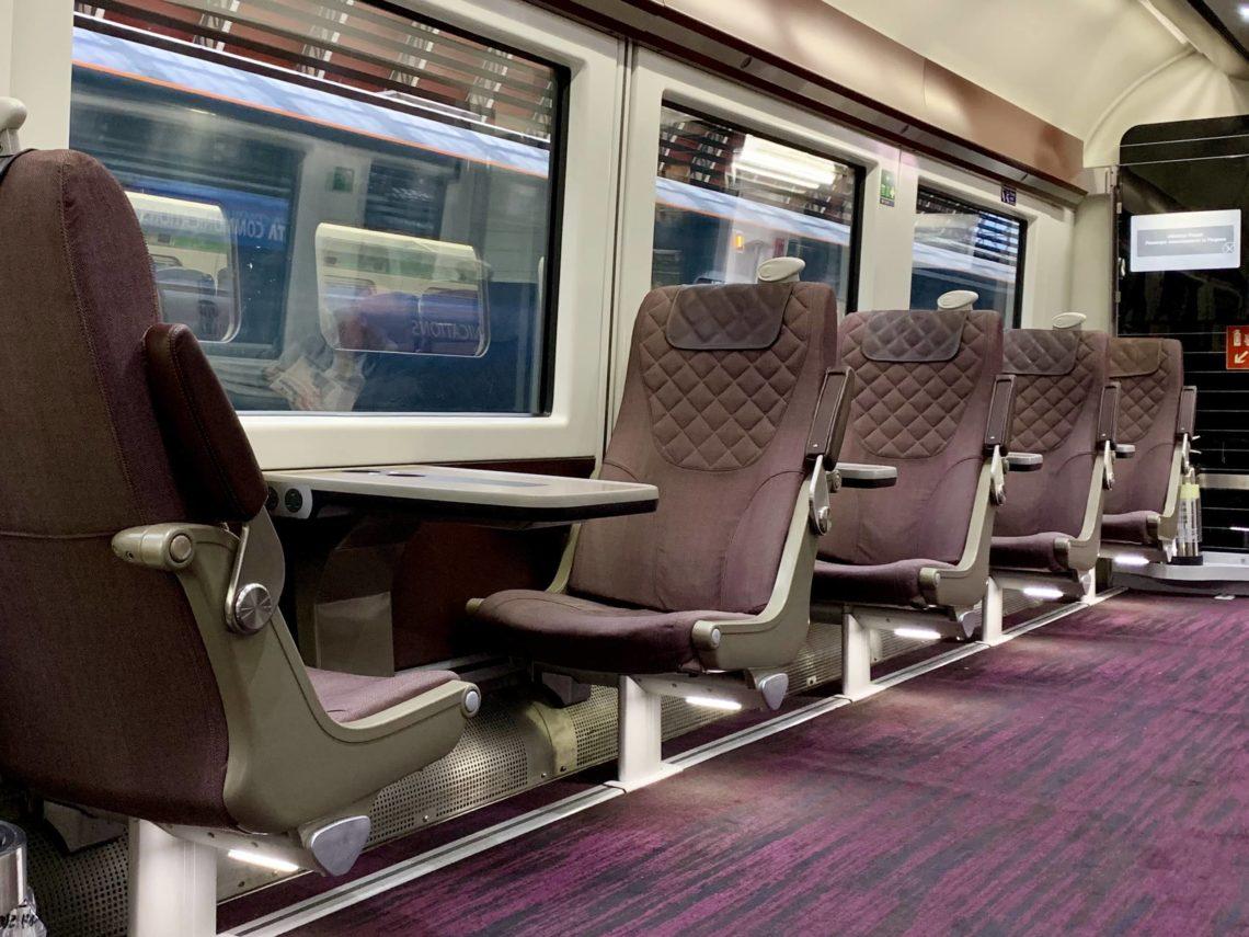 Heathrow Express Business First Class Sitze