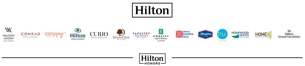 Die Hilton Hotelmarken &copy Hilton
