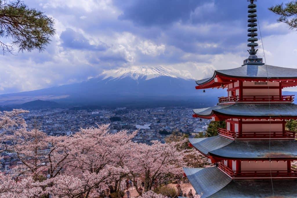 Japan Chureito Shrine
