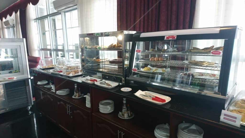 Karibuni Lounge Entebbe Buffet im Überblick