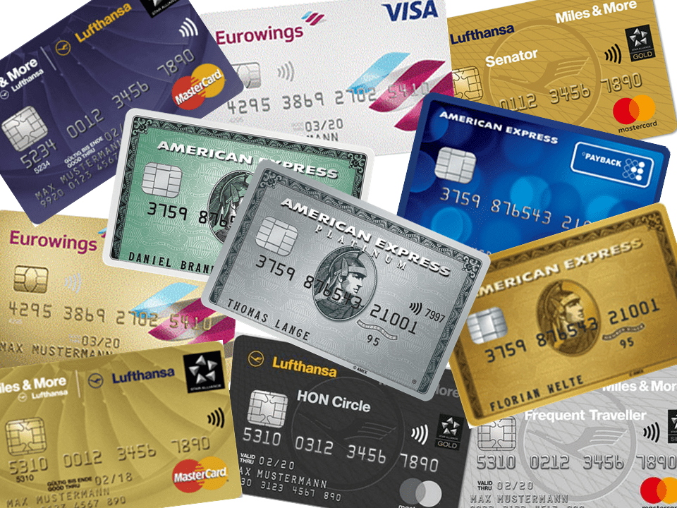 Kreditkarten zum Meilen sammeln