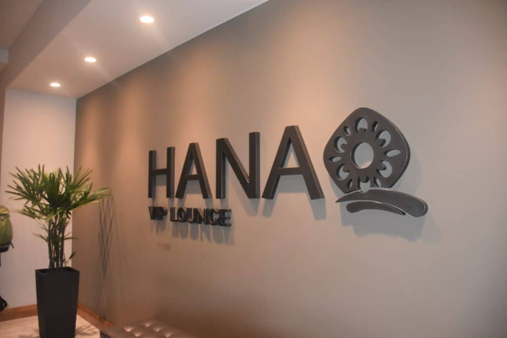 Logo Hanaq VIP Lounge Lima
