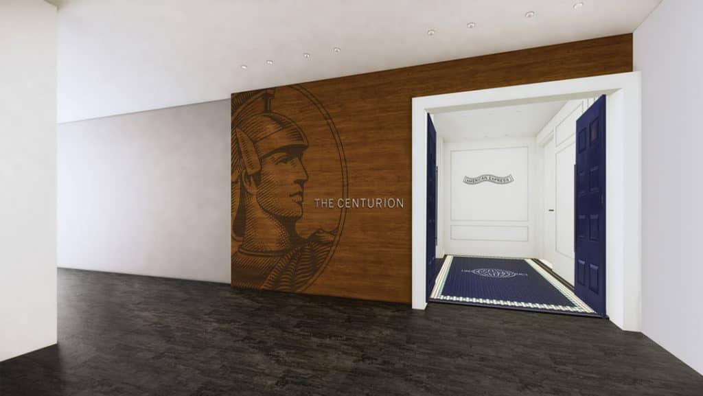 American Express Centurion Lounge London &copy American Express