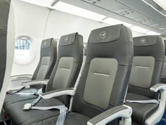 Der Lufthansa-Sitz für Kurz- und Mittelstrecken