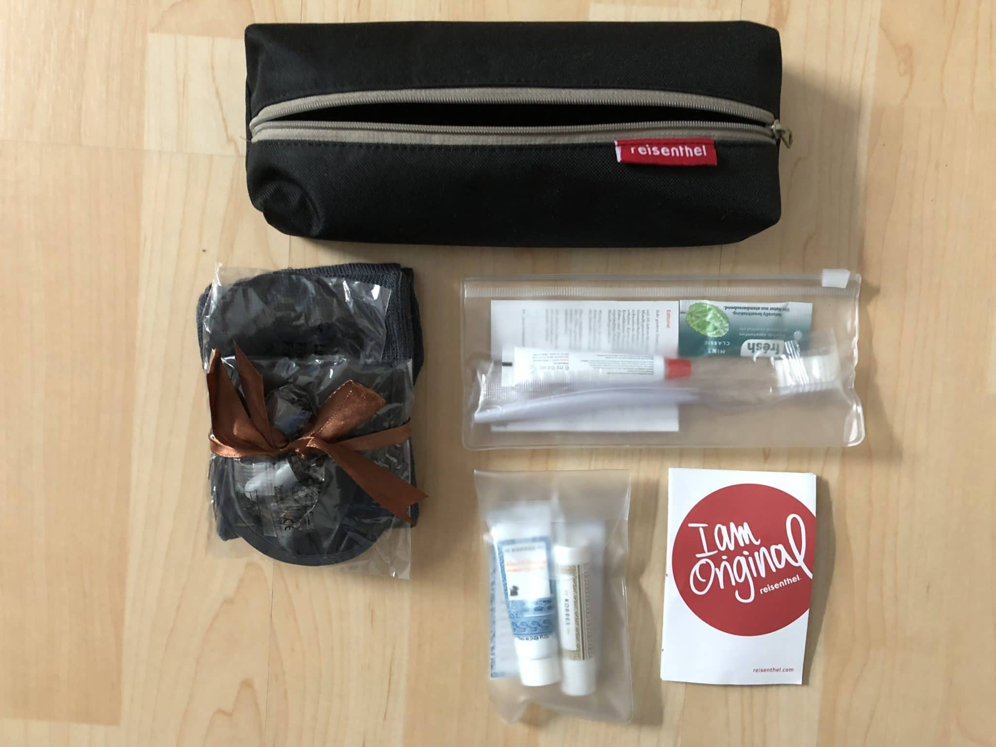 Lufthansa Business Class A350 Amenity Kit ausgepackt