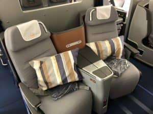 Lufthansa Business Class A350 Business Class Sitz