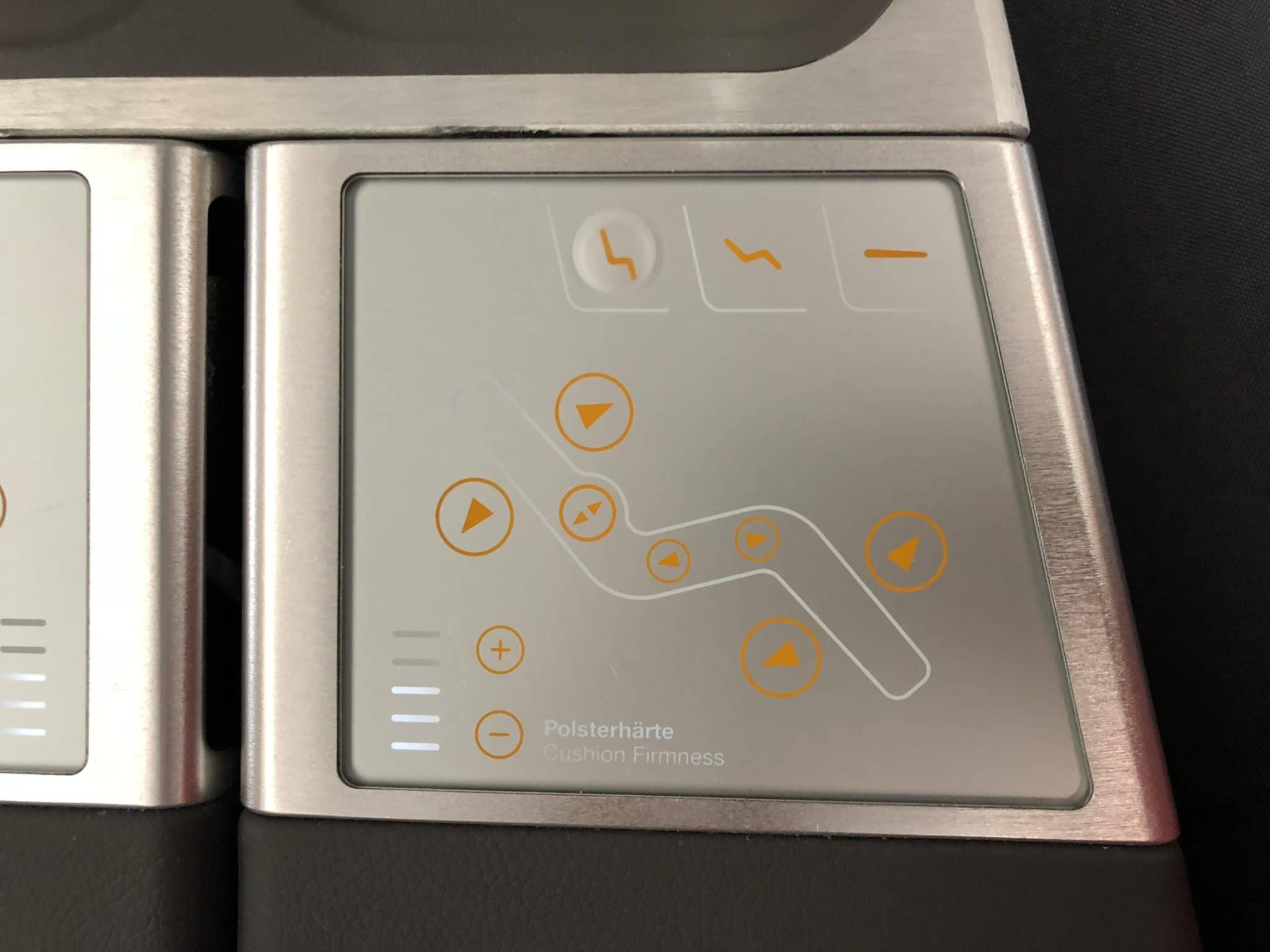 Lufthansa Business Class A350 Sitz Controller