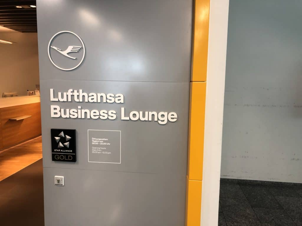 Lufthansa Business Lounge Frankfurt A26 Business Lounge Logo